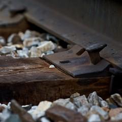 Train Track Spike