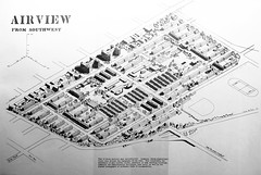 Proposed redevelopment of Strathcona, ca. 1950 (laniwurm) Tags: vancouver strathcona slumclearancemarshreport