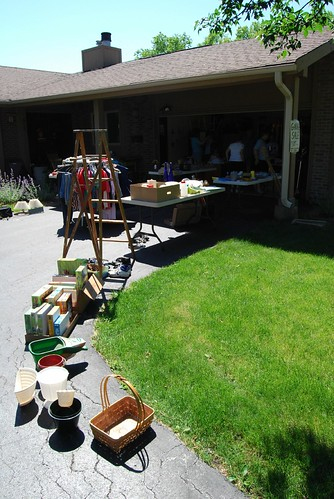 Garage sale at my mother's house
