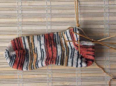 Tiger Socks side view
