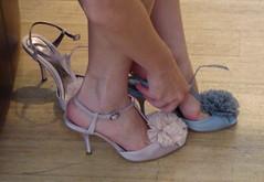 Natalie Portman shoes - té casan