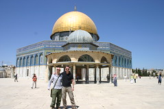 Israel - Mark Thomas & Hereward Bunch (Nalyd003) Tags: b jerusalem domeoftherock bunch peterborough hereward