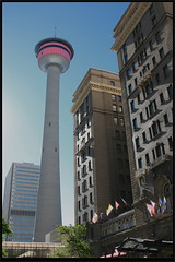 Calgary Tower by Ricky n Rojo