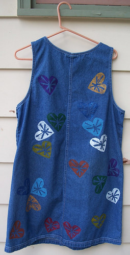 Back of jumper, round 1.5