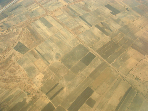 Rajasthani Aerial Pattern
