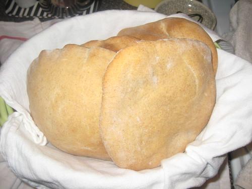 baked pitas