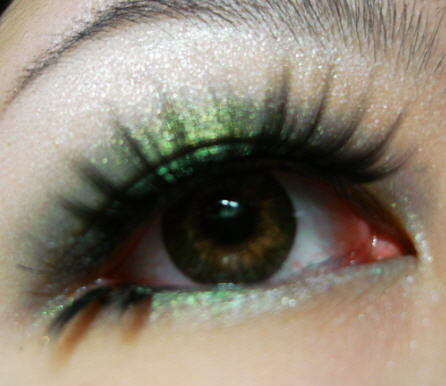 Green eye shadow picture ideas design