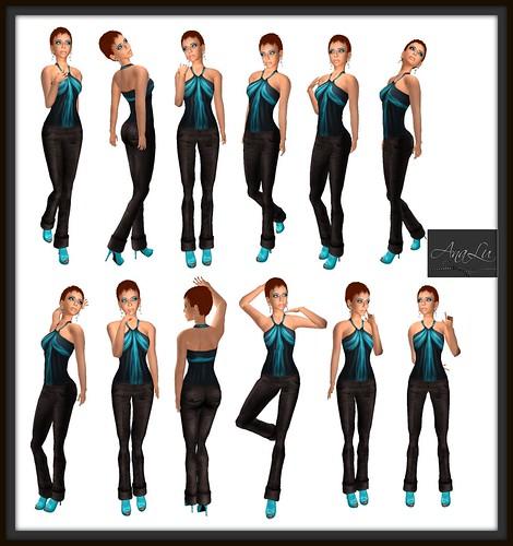-AnaLu- *fresh poses* (337-348)