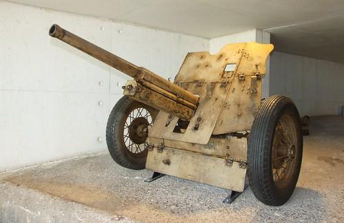 Russian 4,5 cm PAK gun