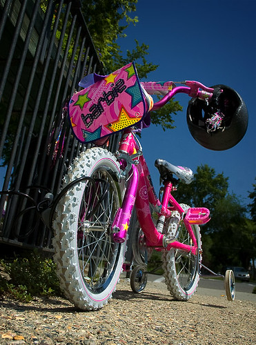 Anyone for a Barbie bike?