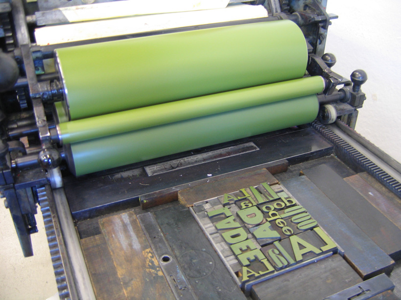 printing on the vandercook