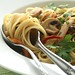 Spaghettini Aglio Olio with bacon and button mushroom-5-6300 copy by CY Phang
