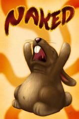 PELADO colorfull (BoneKrishna) Tags: bunny art naked arte drawing concept draw 2d coelho desenho conceito