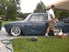 088 (ssbielman) Tags: vw volkswagen notchback azurblau