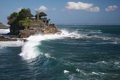 Wave under Tanah Lot, Bali (hapulcu) Tags: bali indonesia tanahlot beautifulbali