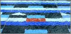 Surreal Blue - La Defense (Paris) (57JS) Tags: abstract paris architecture la defense