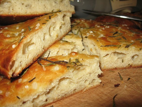focaccia from batter