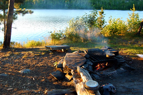 Ensign Lake Campsite
