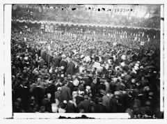 La convención demócrata reunió a un público numeroso