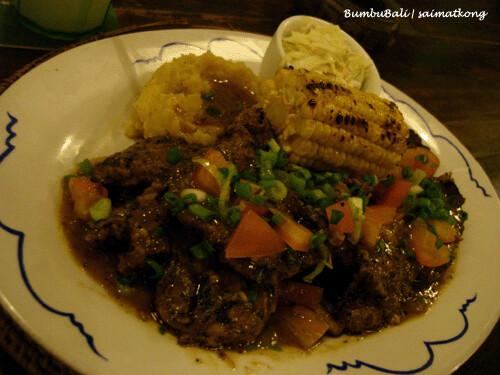 BumbuBali Chicken n' Lamb Combo RM26.50