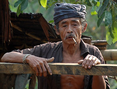 baduy man (1), Banten, Indonesia (Tempo Dulu) Tags: portrait indonesia java westjava tribe baduy indigenous badui suku banten