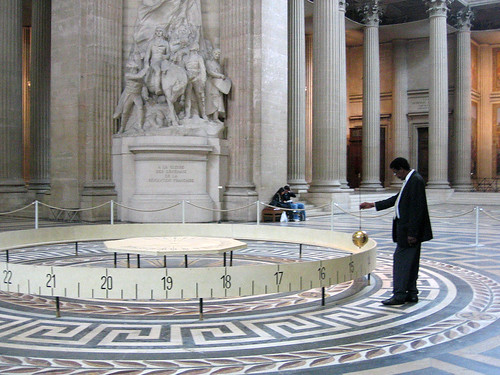 Foucault pendulum at the Panthéon