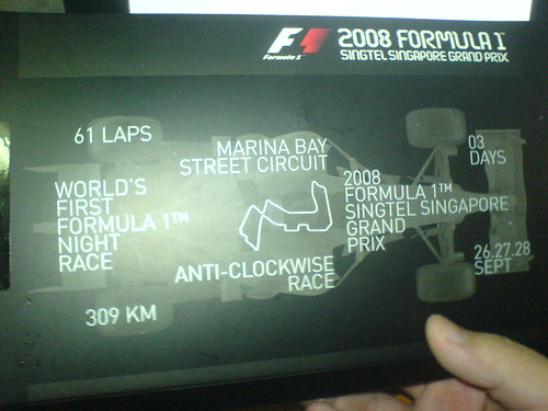 My GrandPrix seat/Tickets
