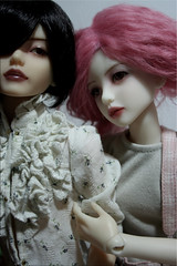 Is it asking too much of my vacant smile (Tuvie) Tags: doll aurora mio bjd resin dollfie lucien narin narae narindoll
