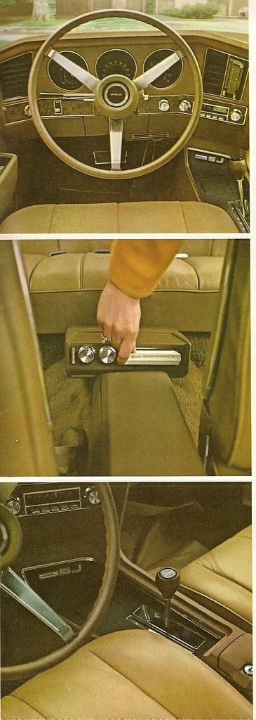 '70 Pontiac Grand Prix, leather interior shots