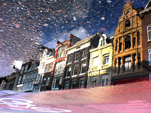 Reflections Of Amsterd@m - The World Inside The Bike Path