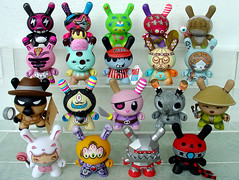 Dunny Series 5 (ecpica) Tags: toys kidrobot dunny series5 playcommy