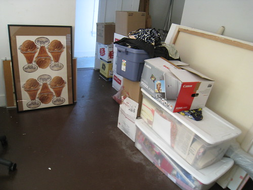 Boxes in Office