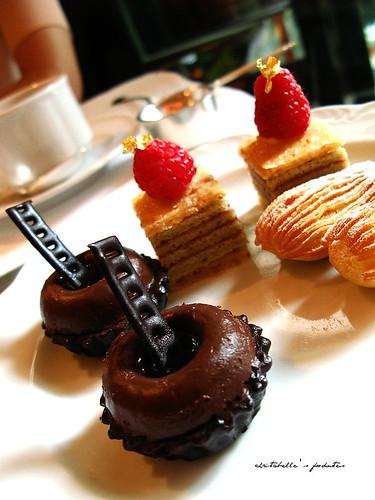 西華飯店Harrod's午茶之香橙巧克力塔