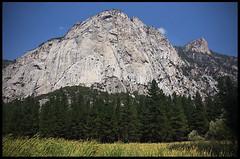 Grand Sentinel from Zumwalt Meadow Trail (rickz) Tags: california trees lake tree nationalpark stream meadow sentinel kingscanyon kingscanyonnationalpark zumwaltmeadow grandsentinel
