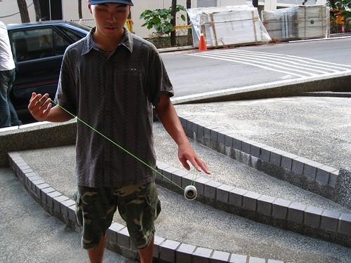 暑假在學校拍Yo-Yo clip