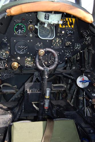 Fairey Swordfish Pilot's cockpit
