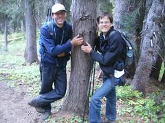 MM & Todd w/tree