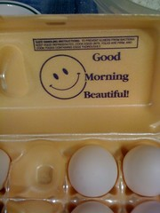 My eggs love me