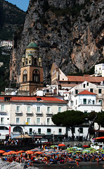 Amalfi 4 (Paul 'Tuna' Turner) Tags: travel italy holiday canon bay europe italia campania amalficoast cove cliffs resort coastline bayofnaples amalfi mediterraneansea coastaltown coastroad sorrentopeninsula sorrentinepeninsula canoneos400d