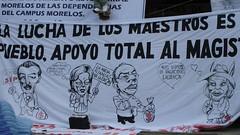 CNTE Morelos crucifixion accion 5