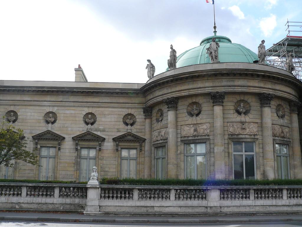 Paris: palais de la Légion d'Honneur, ou hôtel de Salm.