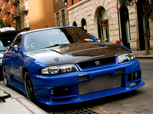 tuning cars and news: nissan skyline gt-r r33 tuning