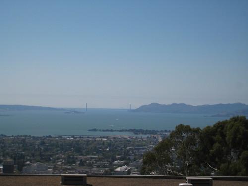 Vistas de la Bay Area desde el LBNL