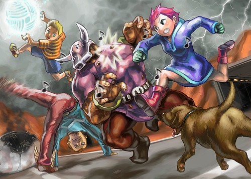 Fun Mother 3 art.
