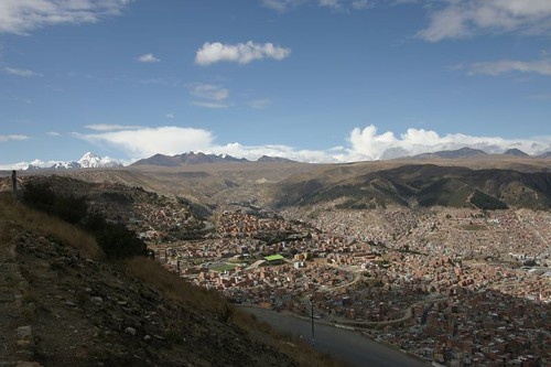 La Paz in all its´ glory..