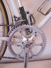 Wide Range Triple (cyqlist) Tags: bicycle granny ta cranks gearing chainrings crankset halfstep