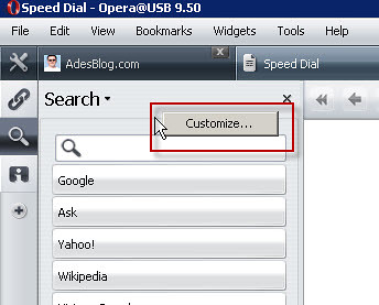 How To Put Gtalk Appear In Opera Sidebar