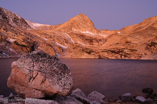 Twilight at Blue Lake
