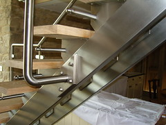 staircase 024 (brightweld fabrications) Tags: bristol spiral steel staircases stainless aluminium glasswork fabrication thekla