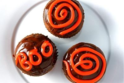 orange + brown = halloween?